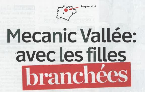 Mecanic Vallee avec les filles brancheesrticle-Midi Mag-04.02.2018