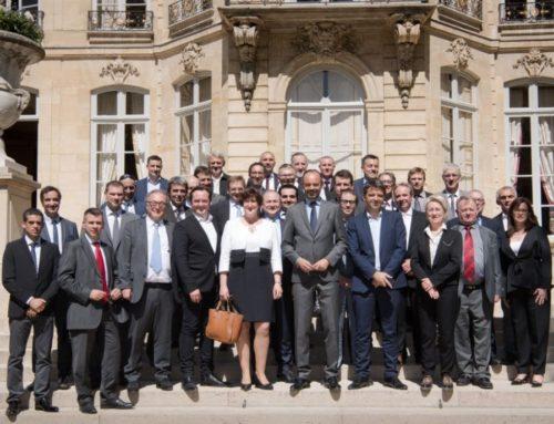 Les chefs d'entreprise du Lot à la table du Premier ministre