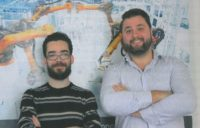 de g à d : Rémi Parlouar, directeur technique et Sébastien Bach, directeur général