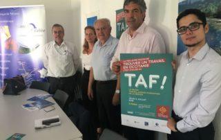 Ce forum du recrutement est une initiative de la Région Occitanie, soutenue par Mecanic Vallée et l'UIMM./Photo DDM-Lae. B.