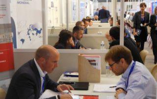 Plus de 1200 rendez-vous d'affaires sont prévus tout au long de la journée./Photo DDM Audrey Lecomte