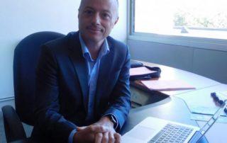 Le directeur de l'institut universitaire technologique de Figeac, Xavier Pumin, fait sa 2e rentrée./ Photo DDM A.L.