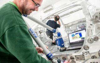 2MI , modeles et moules pour l'industrie aeronautique et automobile à Lavault-Saint-Anne. © SALESSE Florian
