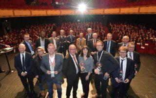 Lauréats partenaires et organisateurs. © Thomas JOUHANNAUD