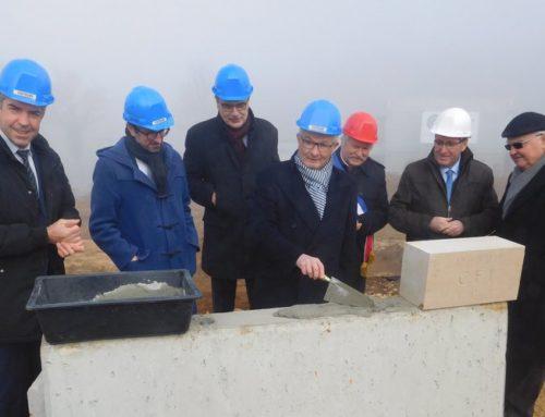 A Cambes, le 4e Centre de formation de l'industrie d'Occitanie sort de terre