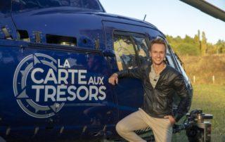 Cyril Féraud, présentateur de « la Carte aux Trésors » sur France 3. (©DR)