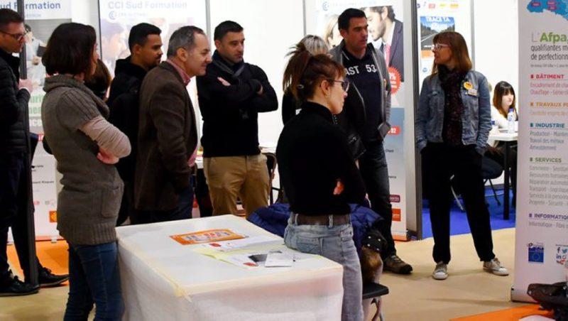 Salon : recruteur et demandeurs d'emplois se rencontrent au Taf