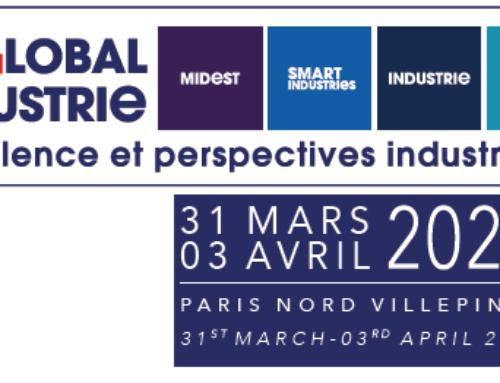 GLOBAL INDUSTRIe du 31 mars au 3 avril 2020 à PARIS NORD VILLEPINTE