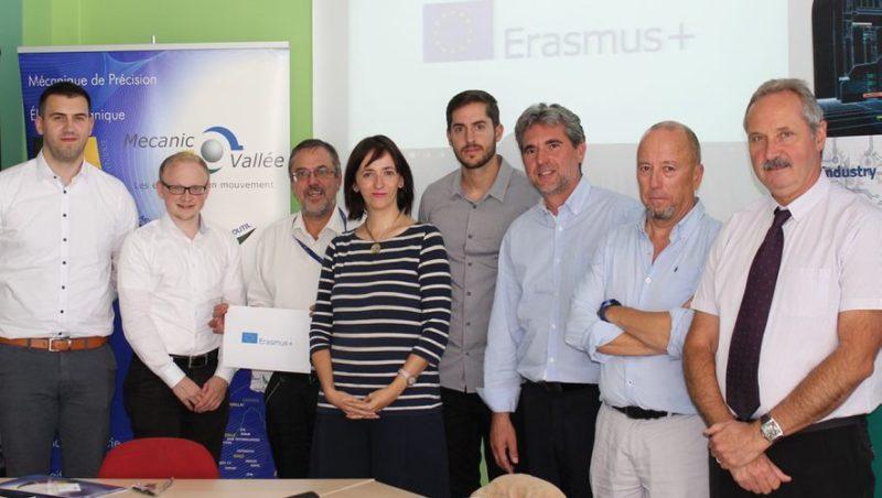 Les partenaires du projet européen réunis au lycée polyvalent La découverte. - DDM, Daniel Montarry