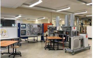 Sur le site CFAI de Beauzelle, 9 000 m² de plateaux techniques sont installés.