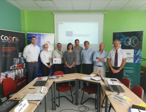 Reportage France 3 Quercy Rouergue : L'industrie du Futur se prépare à Decazeville avec le projet européen 3TIndustry4.0