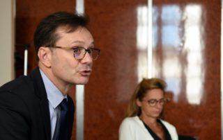 Fabrice Mengual est directeur départemental de la Banque de France depuis juillet 2018/ Photo DDM, Marc Salvet.