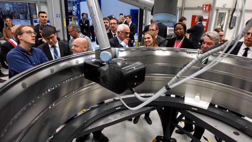 «Il n'y a pas de grande économie sans grande industrie», avait insisté Agnès Pannier-Runacher, en mars dernier, dans la nouvelle usine de Figeac Aéro. Photo José Torres