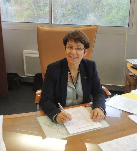 Bénédicte Guilpart, directrice du CEA Gramat.