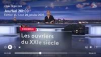 Le 20 heures du 20 janvier 2020 présenté par Anne-Sophie Lapix