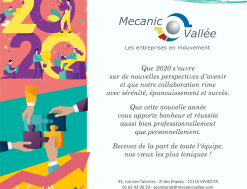 L'équipe Mecanic Vallée vous adresse ses meilleurs vœux pour 2020 !