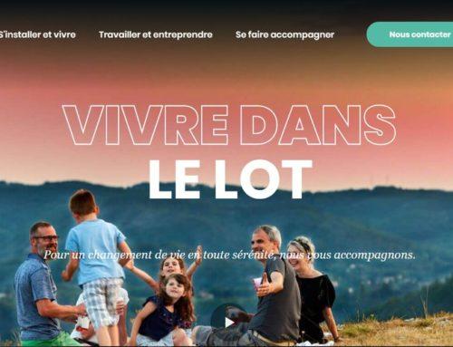 Un nouveau site internet pour se laisser tenter par le Lot
