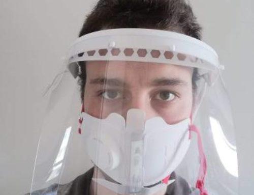 Deux entreprises de Limoges ont créé un masque à visière