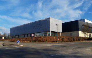 Le bâtiment flambant neuf se situe à l'entrée de la zone d'activité Quercypôle à Cambes./Photo DDM A.L.