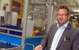 Johan Fabre est le directeur de l'établissement de Villefranche de Lisi./Photo DDM G.L.