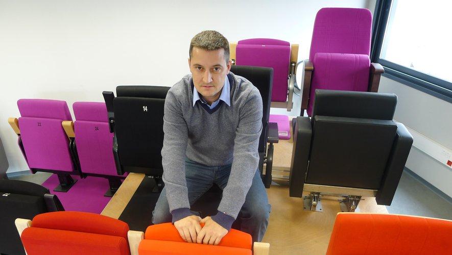 Jean Hugon était vice-président de la CCI du Lot. C'est un fauteuil bien plus grand qu'il occupe désormais à la tête de cette chambre consulaire départementale. Photo DDM, archives.