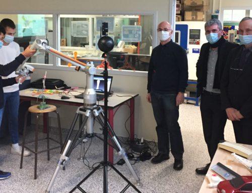Les nouvelles formations du campus des métiers de Decazeville sous le feu des caméras
