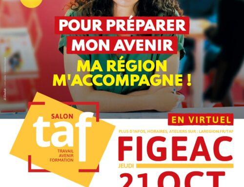 Venez rencontrer l'équipe Mecanic Vallée lors du TAF virtuel de Figeac, le 21 octobre prochain !