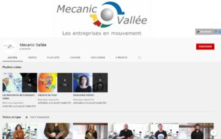Chaîne you tube de Mecanic Vallée